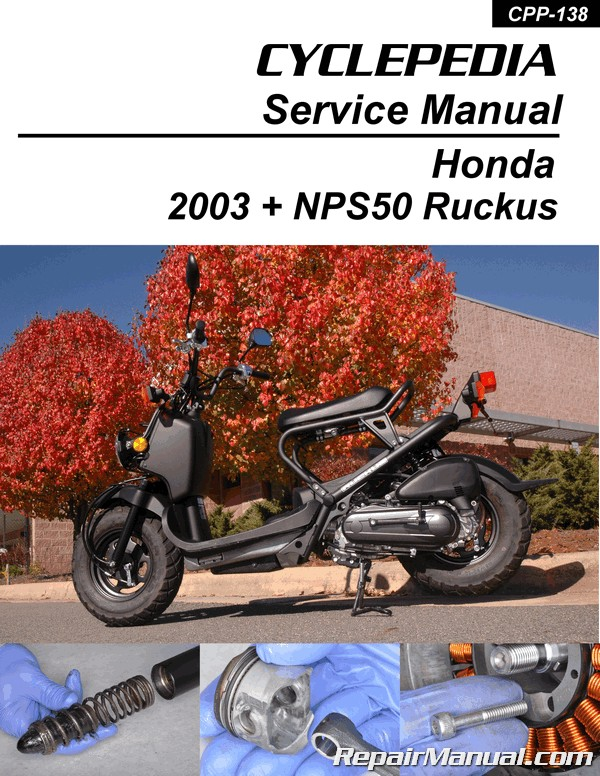 2008 honda ruckus repair manual