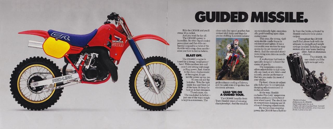1986 honda cr500 service manual