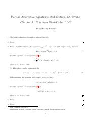 evans partial differential equations solution manual