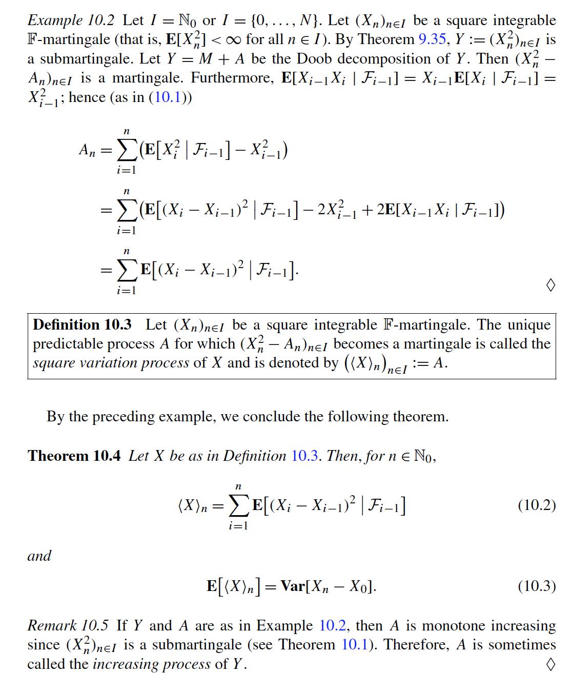 probability with martingales solutions manual