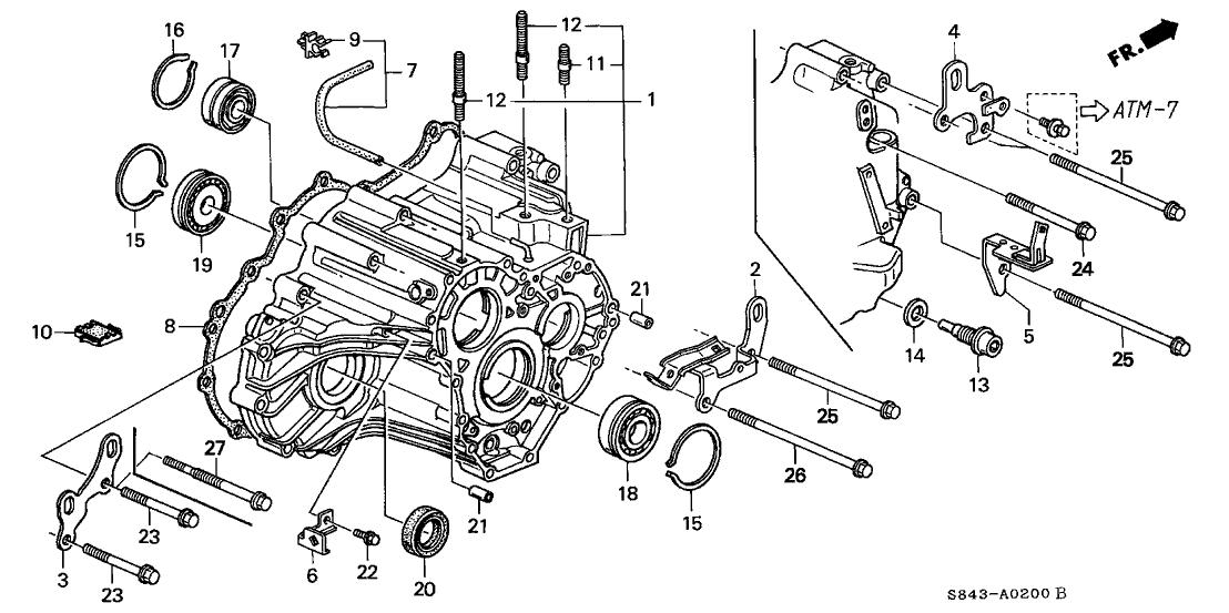 1992 honda accord ex prelude manual transmission
