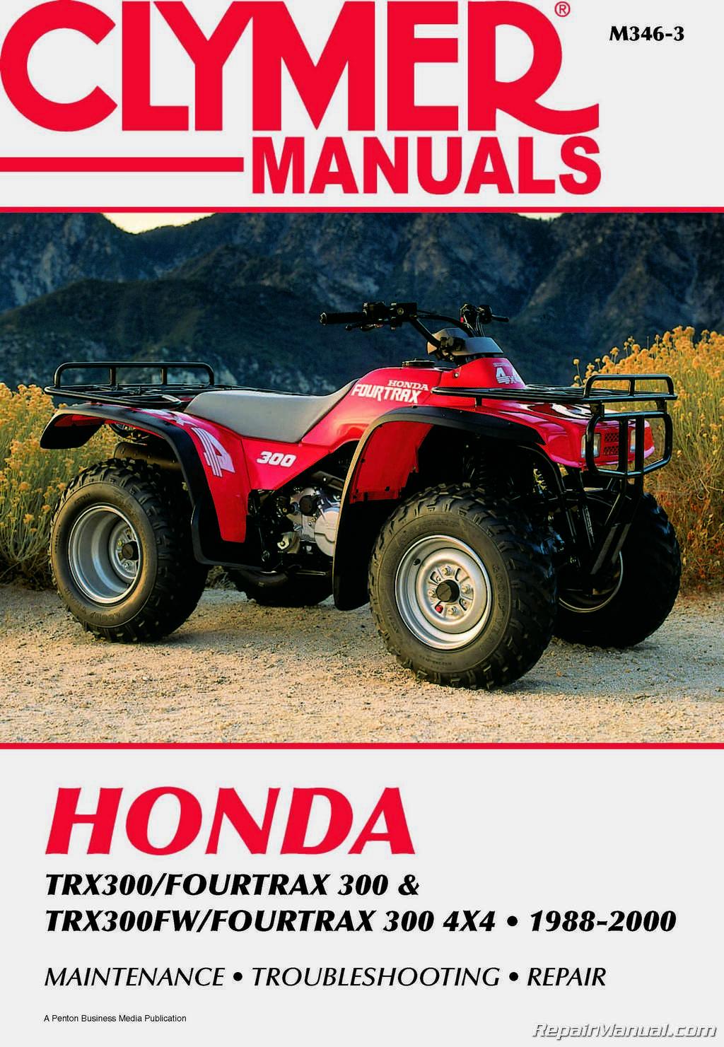 1997 honda fourtrax 300 owners manual pdf