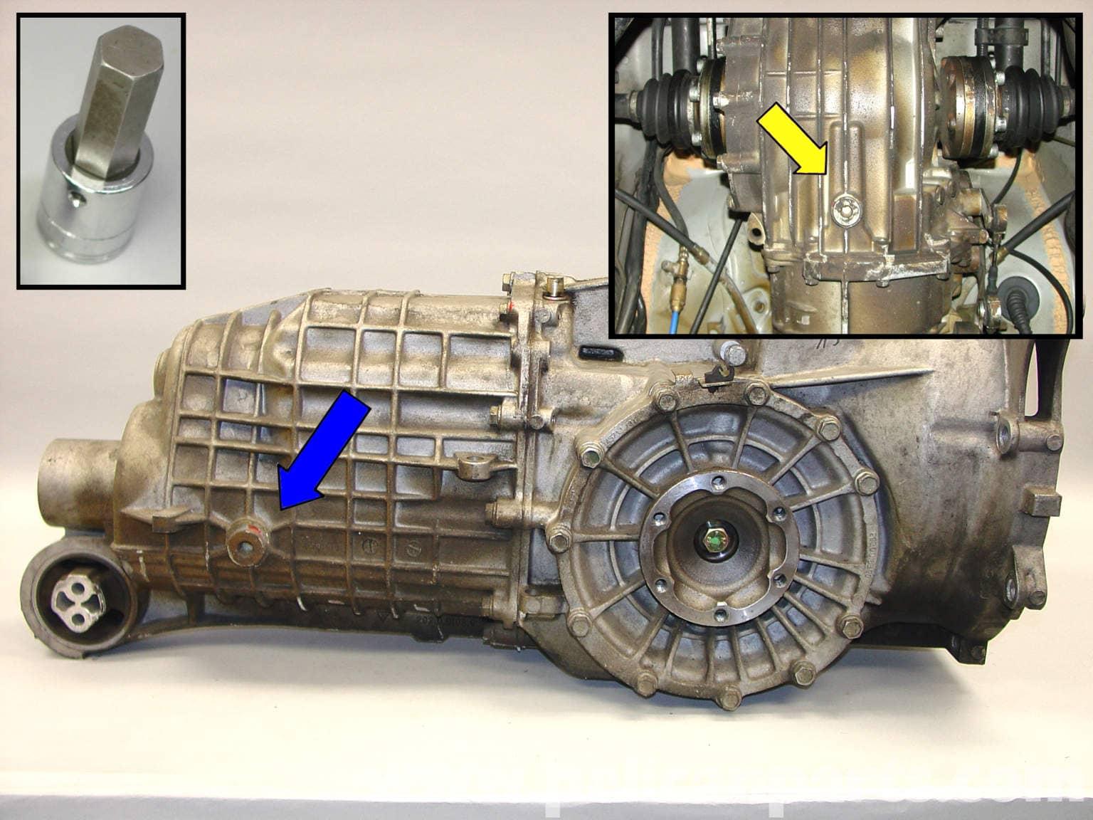 1999 porsche 996 manual transmission parts