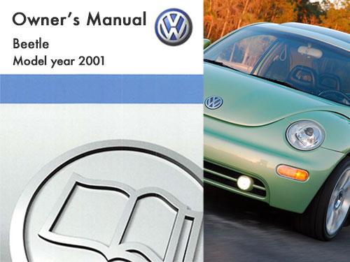 2000 vw beetle parts manual