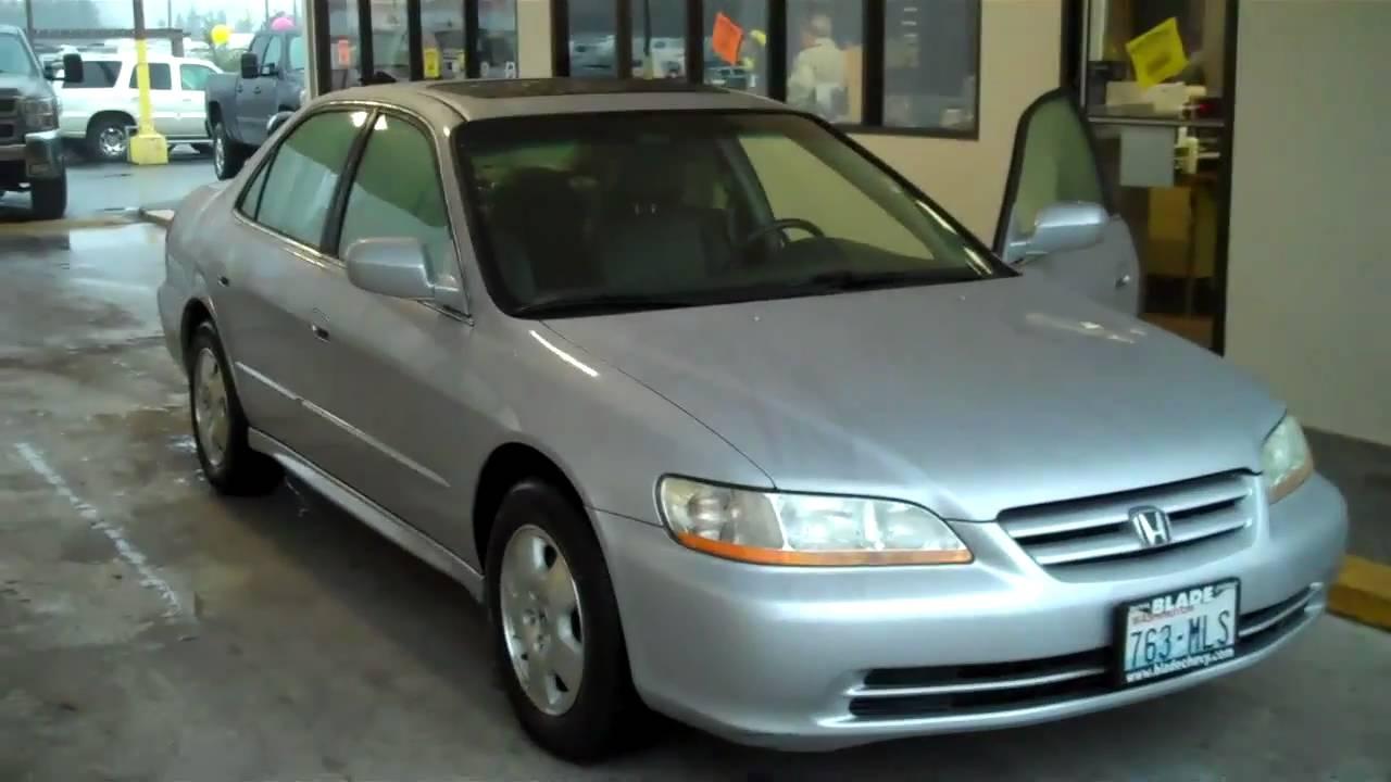 2002 honda accord coupe manual