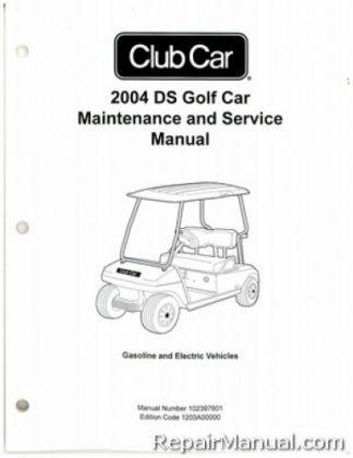 2017 club car precedent parts manual