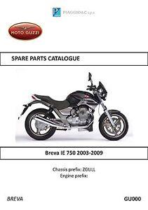 moto guzzi stelvio parts manual