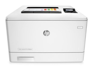 hp color laserjet m452nw manual
