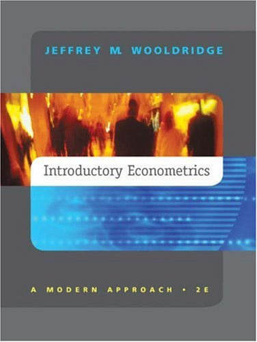 introductory econometrics a modern approach student solutions manual studoc