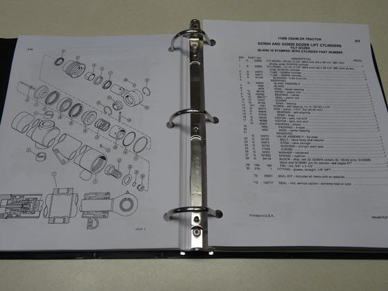 case bulldozer parts catalog manual