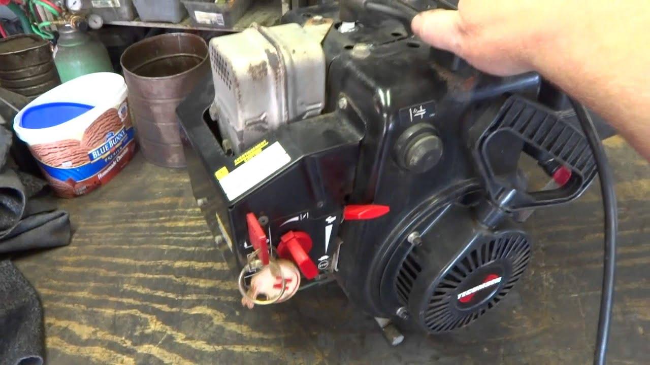 tecumseh 8 hp snow king engine manual
