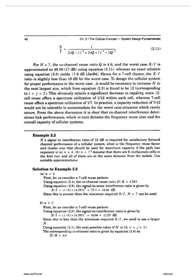 rappaport wireless communication solution manual pdf