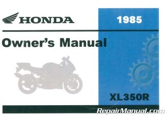 2001 honda elite 80 owners manual