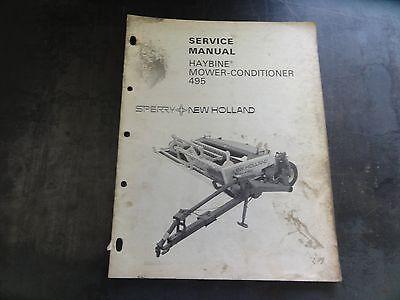 new holland 495 haybine parts manual