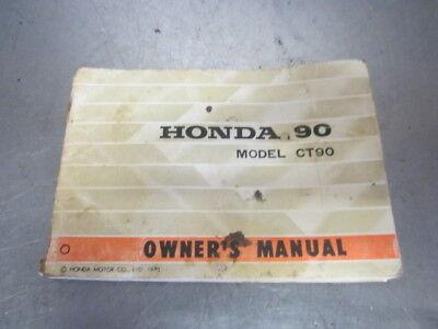 owners manual for honda ct90