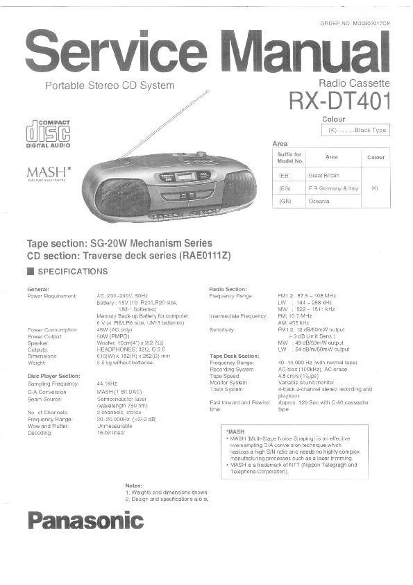 you fix this repair and parts manual download