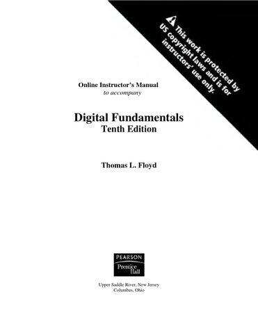 floyd digital fundamentals solution manual