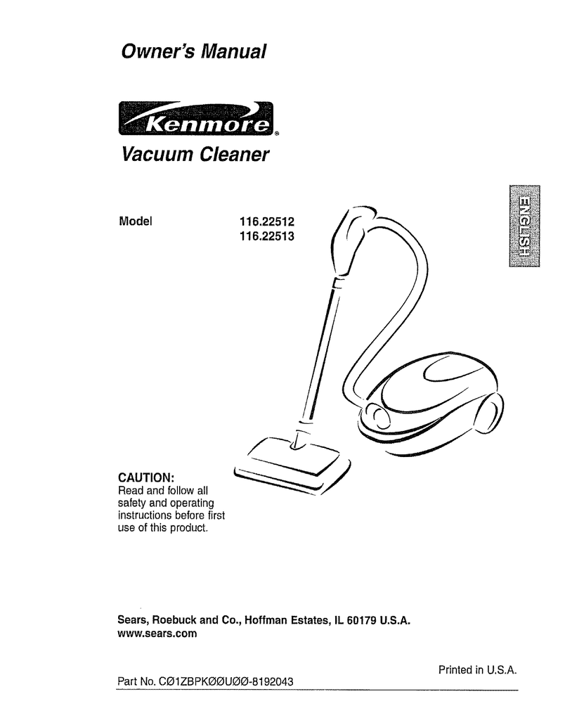 kenmore elite model 31150 vacuum parts manual