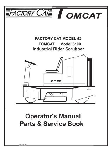 factory cat magnum 30d parts manual