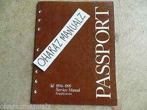 1994 honda passport service manual