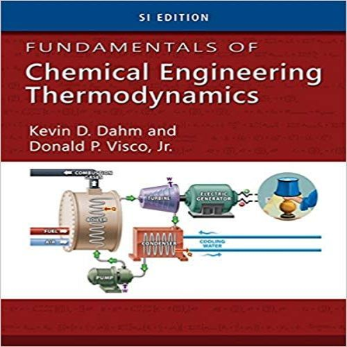 fundamentals of chemical engineering thermodynamics solution manual
