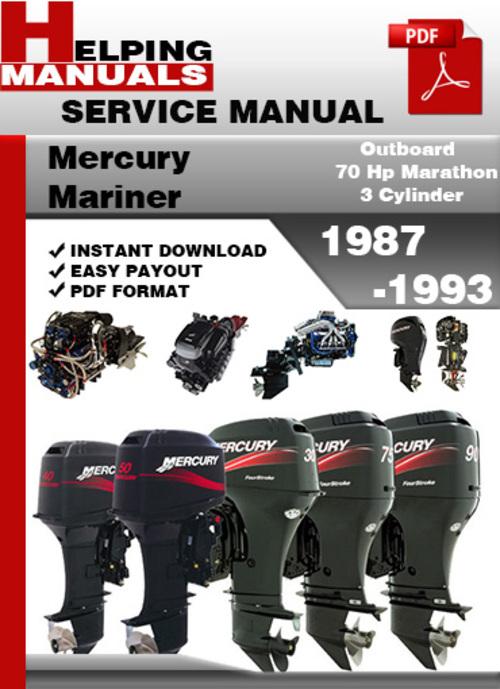 mariner 70 hp outboard manual
