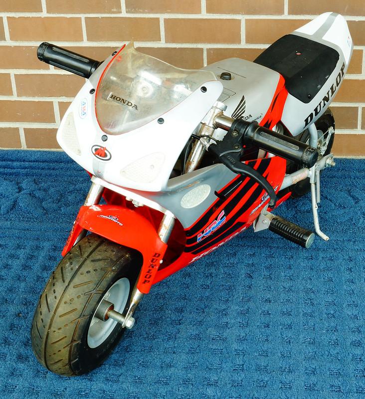 honda minimoto sport racer manual
