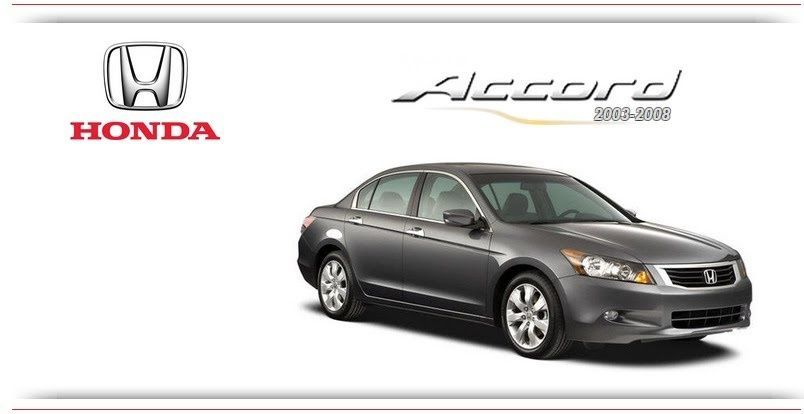 2008 honda accord car manual