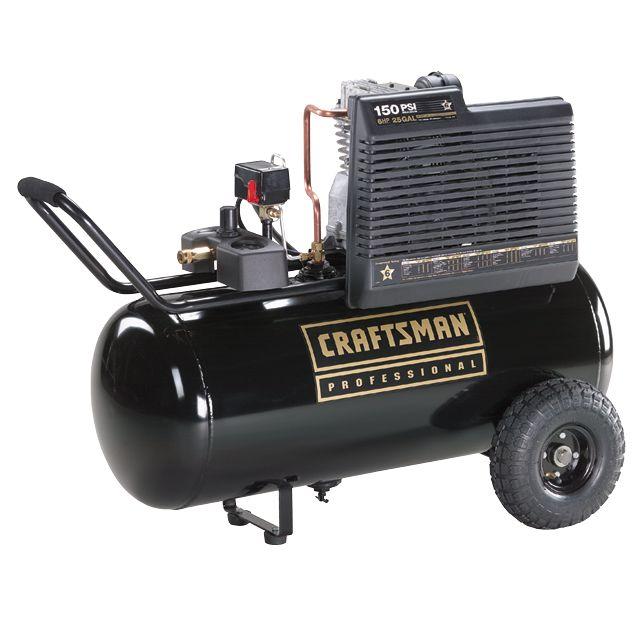craftsman 5.5 hp air compressor manual