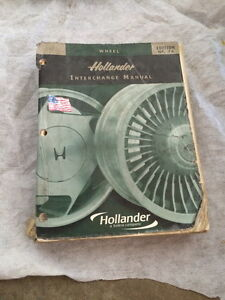 the hollander parts interchange manual