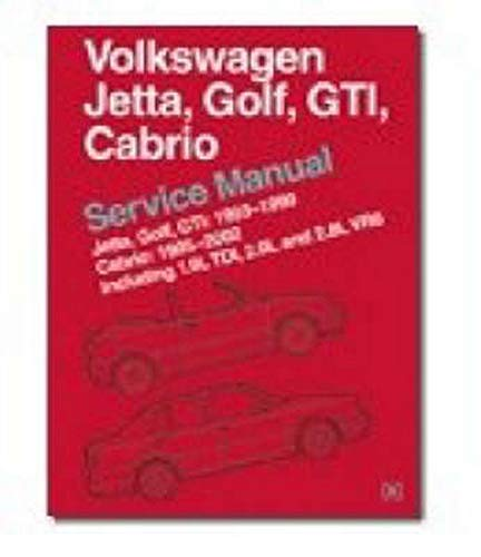 vw golf 2 gtd service manual