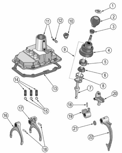 how much is a manual shifter parts