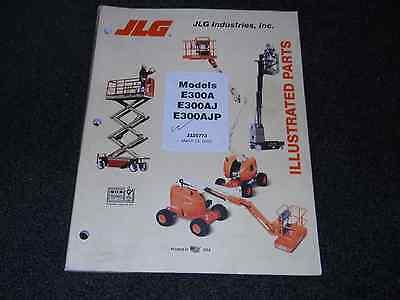 jlg model 450a parts manual 0300098148