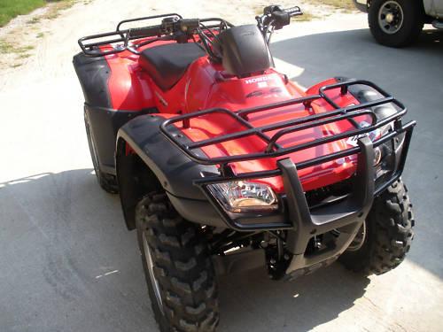 2006 honda rancher trx350te manual shift size