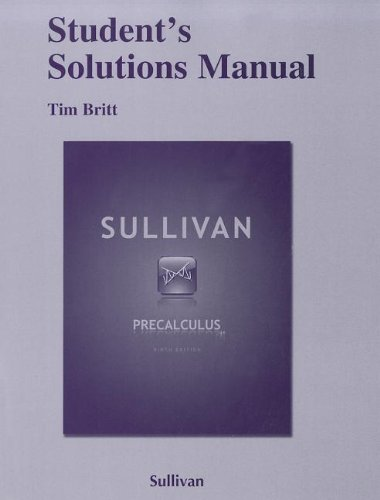 openstax precalculus student solution manual