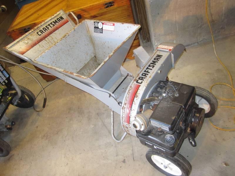 craftsman 5 hp shredder manual