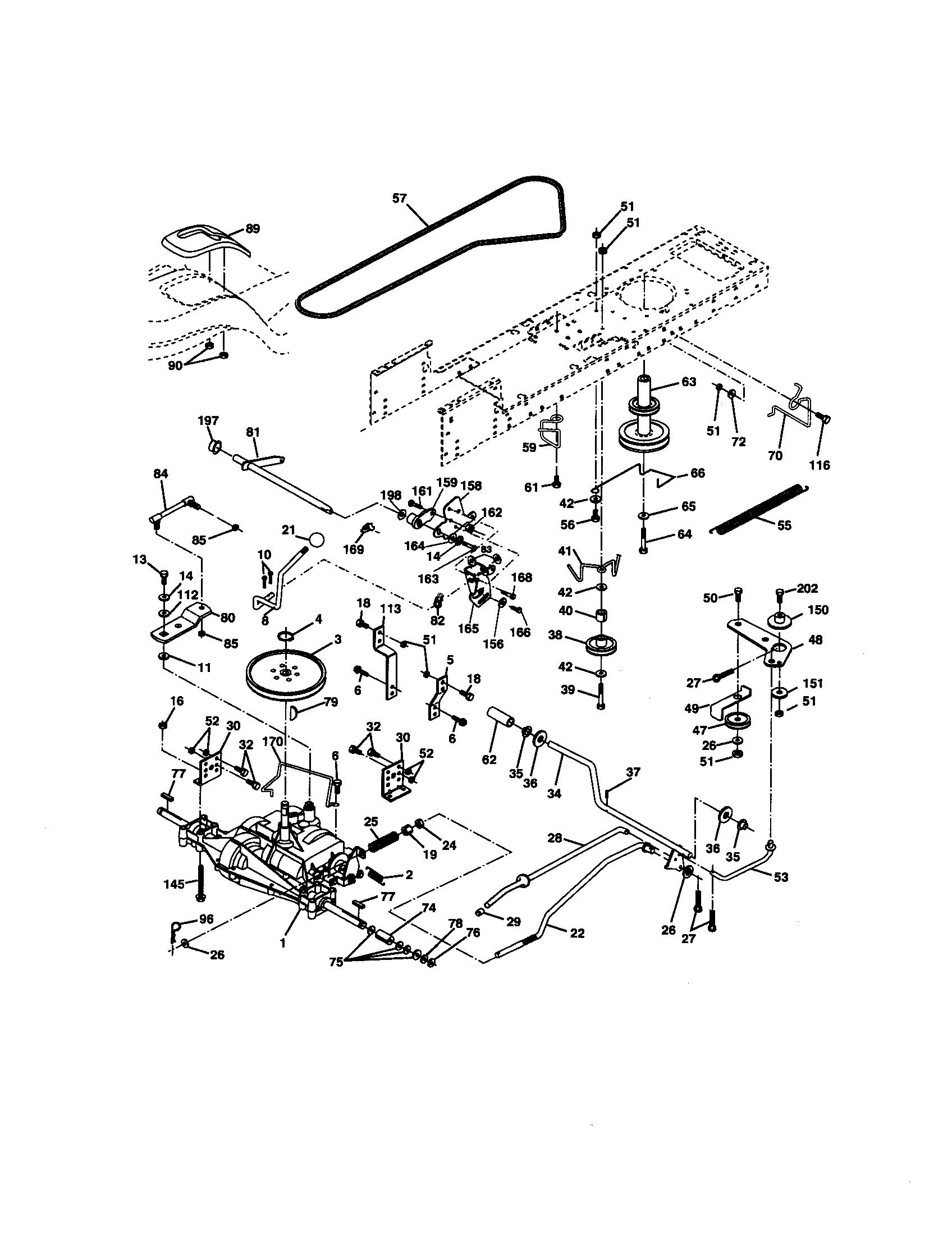 craftsman lt2000 parts manual download