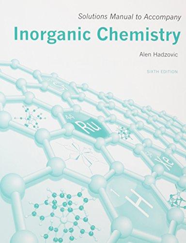 inorganic chemistry 6th edition solutions manual