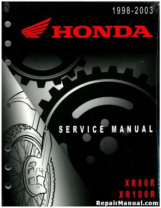 1994 honda xr100r service manual