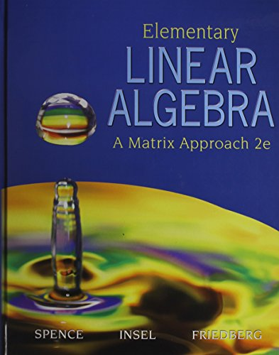 elementary linear algebra solution manual