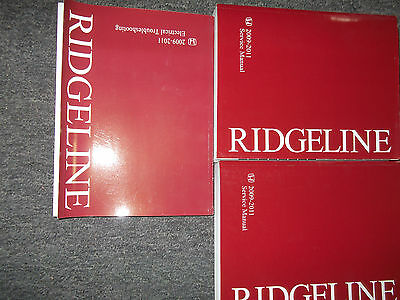 2009 honda ridgeline service manual