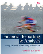 financial reporting and analysis gibson 12th edition solutions manual pdf