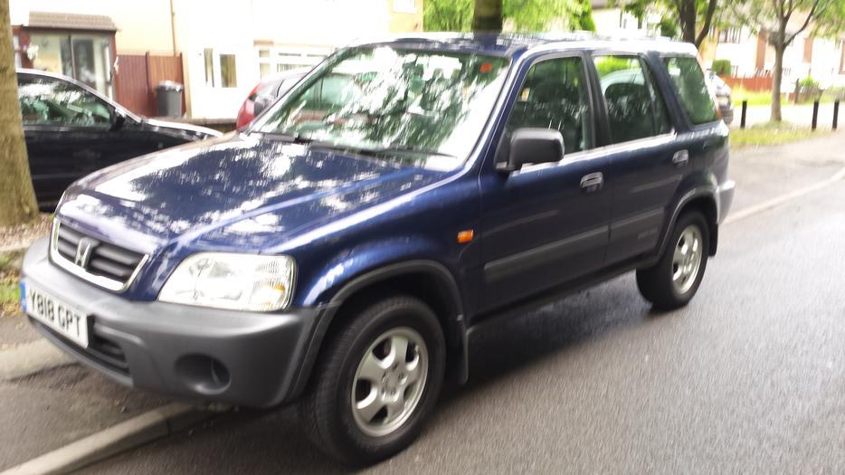 honda crv 2001 car manual