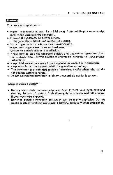 honda em500 generator repair manual pdf