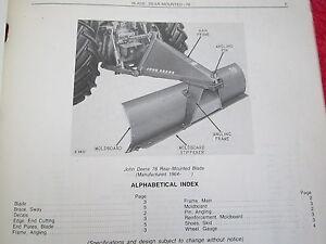 john deere 250 parts manual