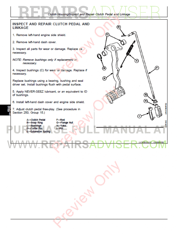 john deere 5400 parts manual