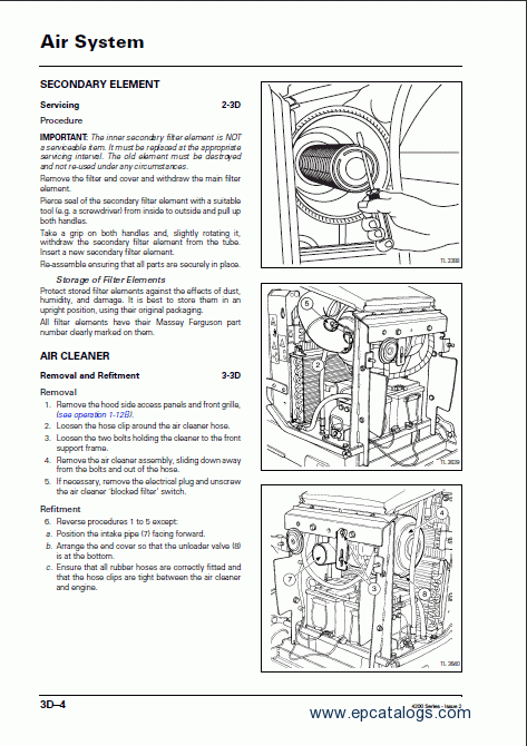 massey ferguson 2615h parts manual