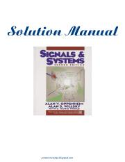 signals and systems oppenheim pdf solution manual