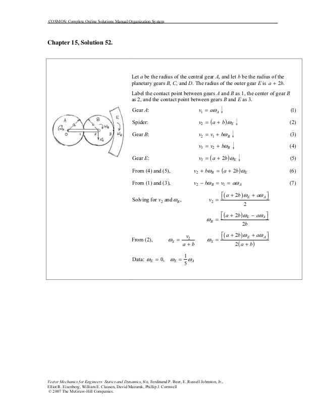 solution manual beer johnston dynamics chapter 12 pdf