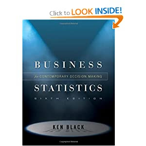 student solution manual for business statistics 6th edition
